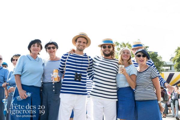 Cortège de la confrérie du 31 juillet 2019, Vevey, fête des vignerons - Cortège, Cortèges Confrérie, Marins, Photographies de la Fête des Vignerons 2019.