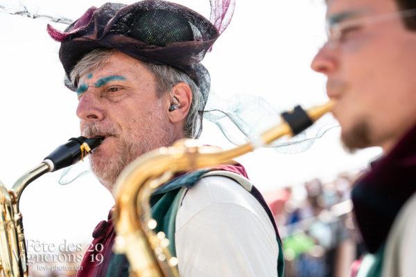 Spectacle - Harmonie de la Fête, Musiciens de la Fête, Spectacle, Photographies de la Fête des Vignerons 2019.