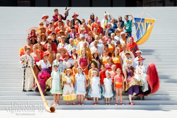 Photo de groupe société de gym de Vevey Ancienne - federation-suisse-de-gymnastique, fsg, groupe, vevey-ancienne, Photographies de la Fête des Vignerons 2019.