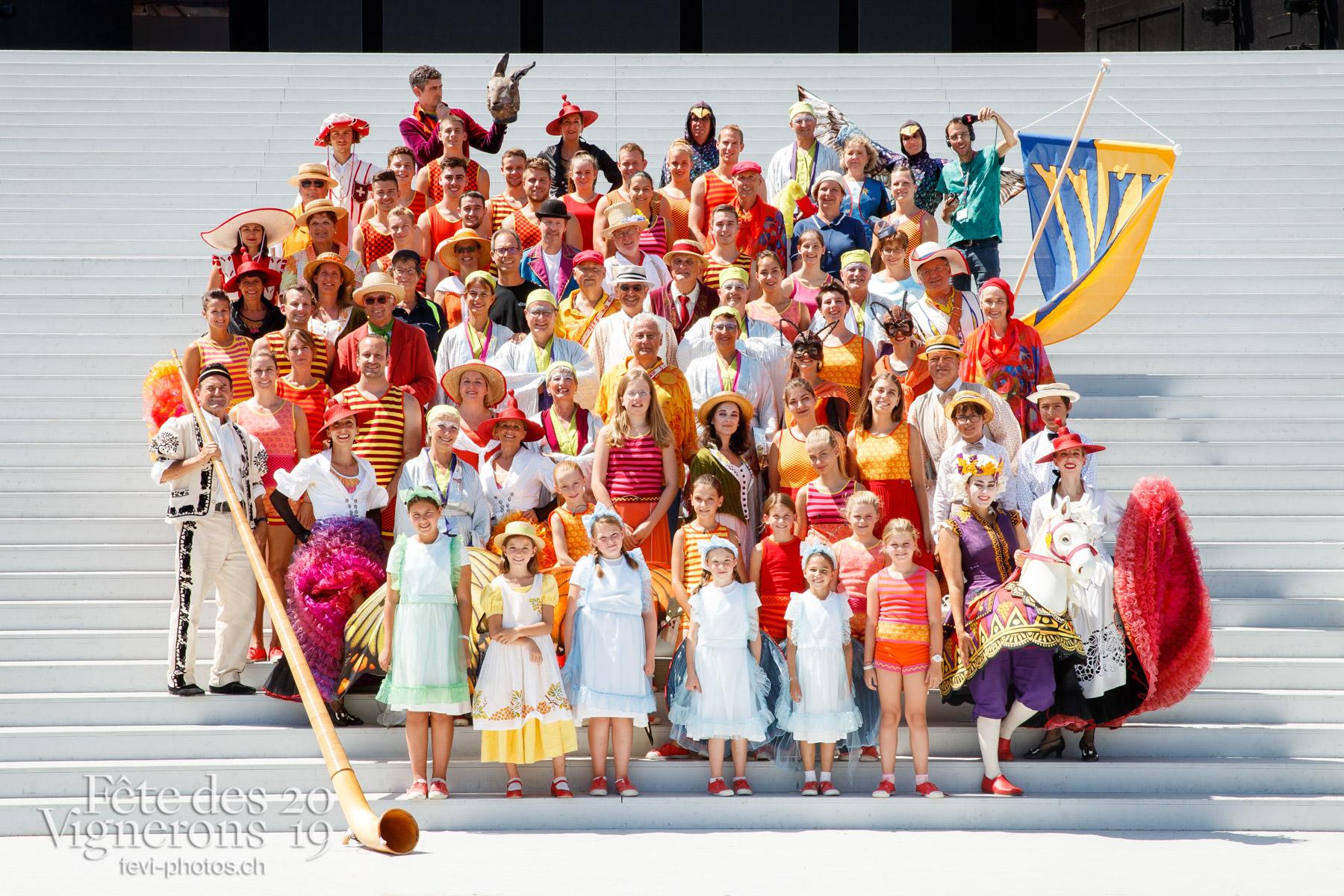 Photo de groupe société de gym de Vevey Ancienne - Groupe, federation suisse de gymnastique, fsg, vevey-ancienne. Photographes de la Fête des Vignerons 2019