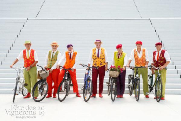 Photo de groupe des vélos de la Saint-Martin
