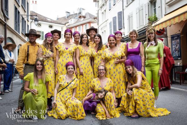 Nostalgie... - 1999, Anciens costumes, Photographies de la Fête des Vignerons 2019.