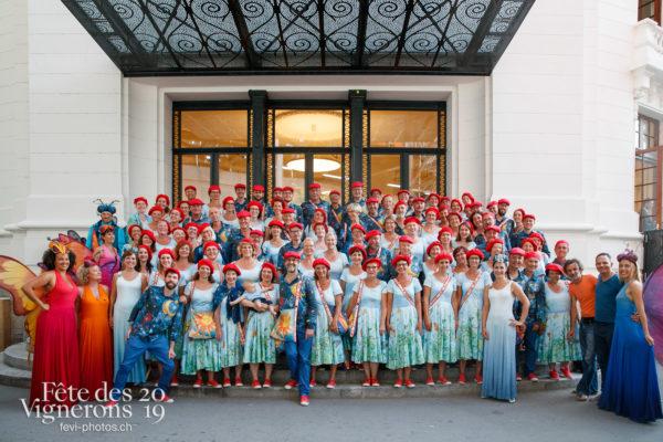 Photo de groupe du choeur Nord - choeur-nord, Chœurs de la Fête, groupe, Musiciens de la Fête, Photographies de la Fête des Vignerons 2019.