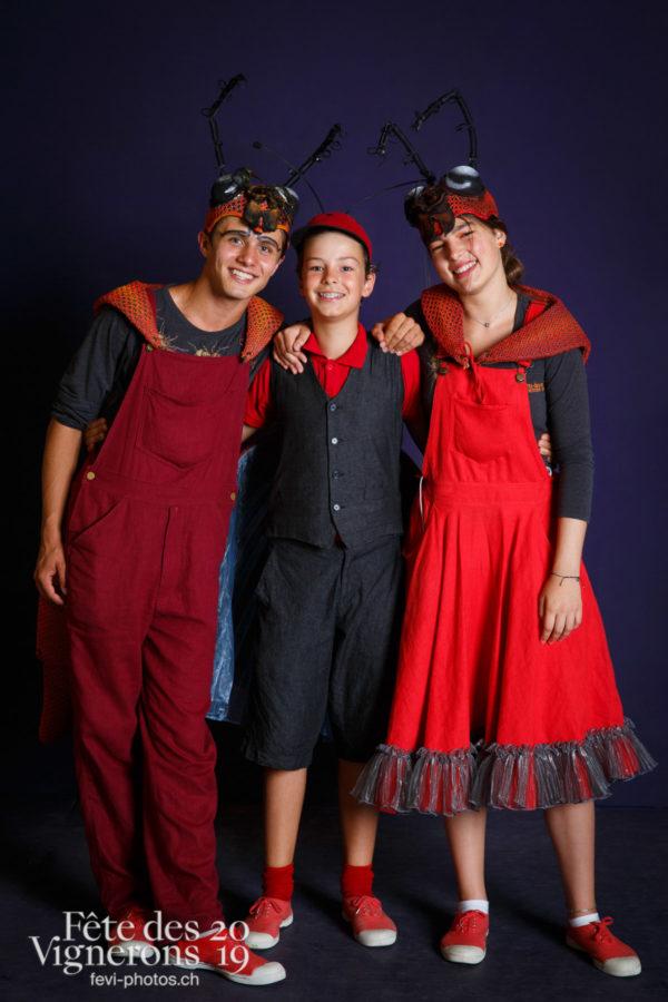 Studio du 9 août - Choristes-percussionnistes, Fourmis, Musiciens de la Fête, Studio, Voix d'enfants, Photographies de la Fête des Vignerons 2019.