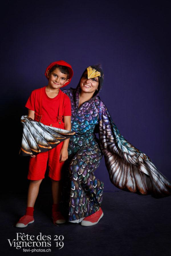 Studio du 9 août - Enfants protecteurs, Etourneaux, Studio, Photographies de la Fête des Vignerons 2019.