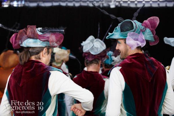 Coulisses - Big Band, Coulisses, Photographies de la Fête des Vignerons 2019.