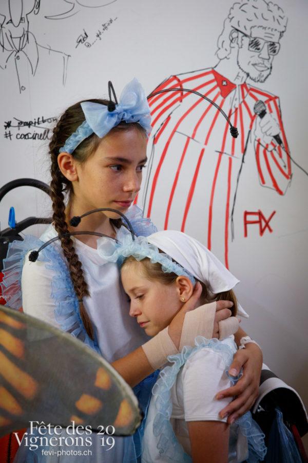 Coulisses - Coulisses, Musiciens de la Fête, Voix d'enfants, Photographies de la Fête des Vignerons 2019.