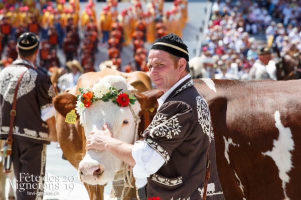 Spectacle de jour, dernière représentation - Armaillis, Hommes de lait, Ranz des vaches, Spectacle, Spectacle jour, Photographies de la Fête des Vignerons 2019.