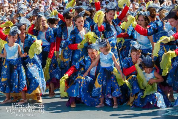 Spectacle de jour, dernière représentation - Bourgeons, Spectacle, Spectacle jour, Photographies de la Fête des Vignerons 2019.