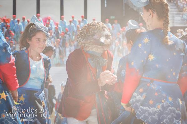 Spectacle de jour, dernière représentation - Bourgeons, Hommes du premier printemps, Larmes, Spectacle, Spectacle jour, Photographies de la Fête des Vignerons 2019.
