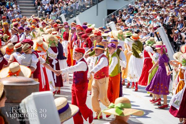 Spectacle de jour, dernière représentation - Saint-Martin, Spectacle, Spectacle jour, Photographies de la Fête des Vignerons 2019.