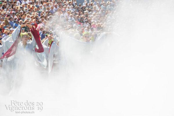 Spectacle de jour, dernière représentation - Maîtres-Tailleurs, Spectacle, Spectacle jour, Taille, Photographies de la Fête des Vignerons 2019.