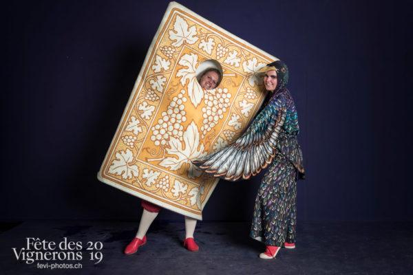 photo studio - Cartes, Etourneaux, Studio, Photographies de la Fête des Vignerons 2019.