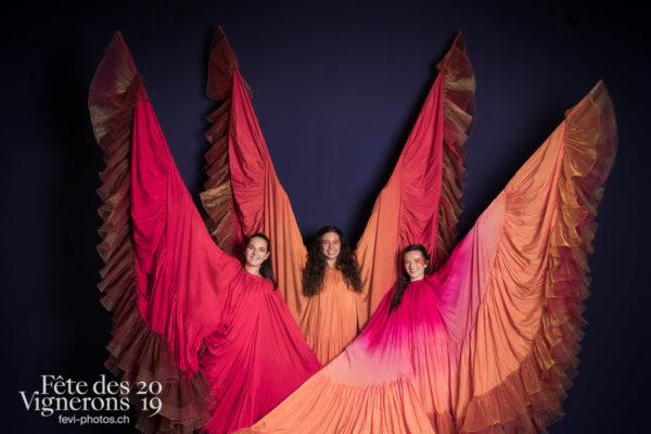 photo studio - Flammes, Loïe Fuller, Studio, Photographies de la Fête des Vignerons 2019.