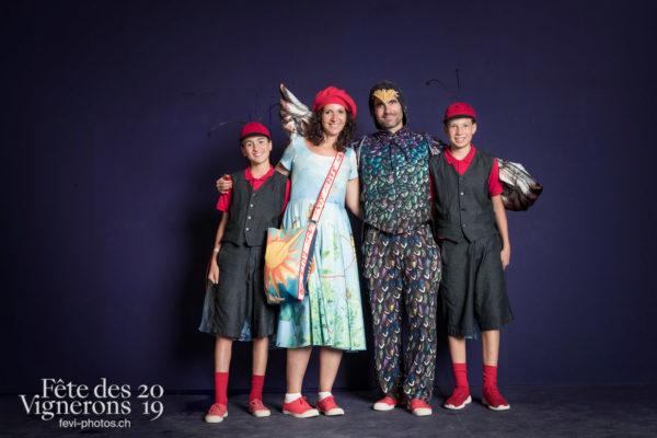 photo studio - Enfants protecteurs, Etourneaux, Musiciens de la Fête, Studio, Voix d'enfants, Photographies de la Fête des Vignerons 2019.