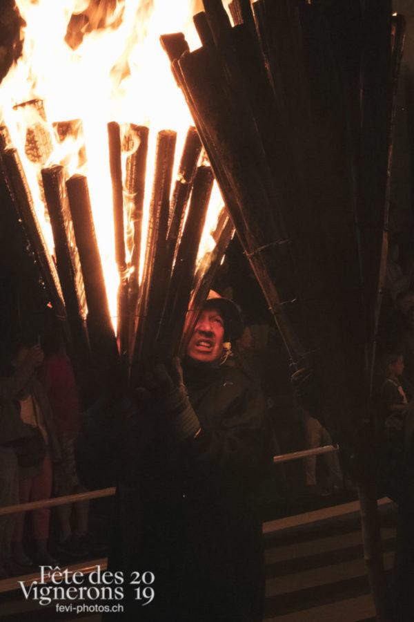 Parade de feux - Liestal, parade, Parade de feu, Photographies de la Fête des Vignerons 2019.