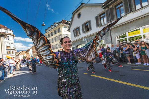 Cortège de la Confrérie - Cortège, Cortèges Confrérie, Etourneaux, Ville en Fête, Photographies de la Fête des Vignerons 2019.