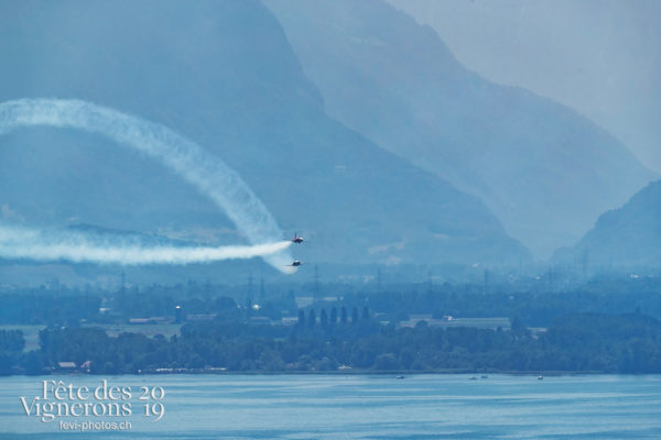 Patrouille et Avion SWISS - Patrouille suisse, Photographies de la Fête des Vignerons 2019.