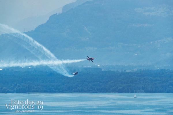 Patrouille et Avion SWISS