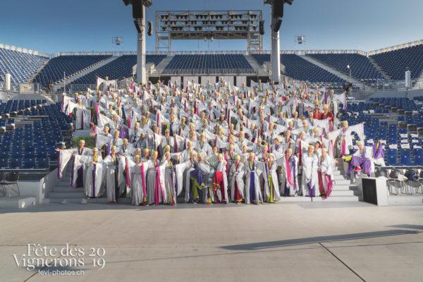 Groupe Maîtres-Tailleurs - groupe, Maîtres-Tailleurs, Photographies de la Fête des Vignerons 2019.