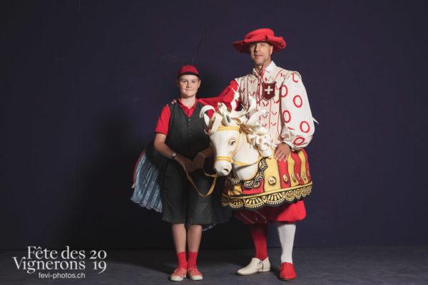 Studio - Cent pour Cent, Faux chevaux, Musiciens de la Fête, Studio, Voix d'enfants, Photographies de la Fête des Vignerons 2019.