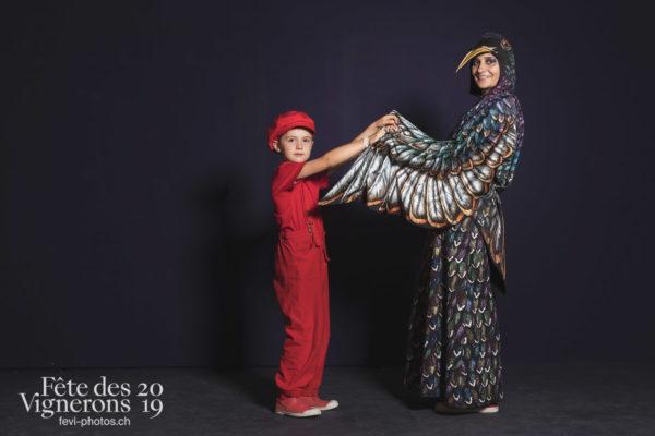 Studio - Enfants protecteurs, Etourneaux, Studio, Photographies de la Fête des Vignerons 2019.