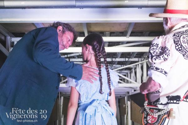 Spectacle nuit - Armailli 1819, Coulisses, Grand-père, Mémoire, Michel Voïta, Petite Julie, Spectacle, Photographies de la Fête des Vignerons 2019.