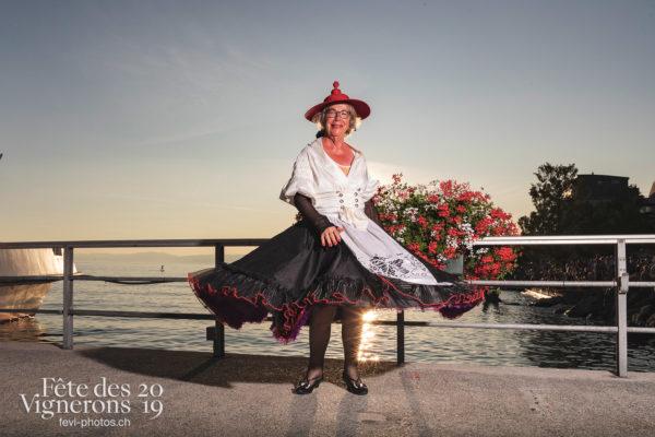 Portrait - evelyne, Portrait, Studio, Photographies de la Fête des Vignerons 2019.