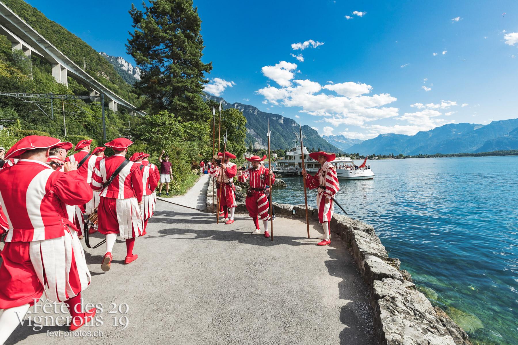 Cent Suisses Chillon - Chillon, cent suisses. Photographes de la Fête des Vignerons 2019