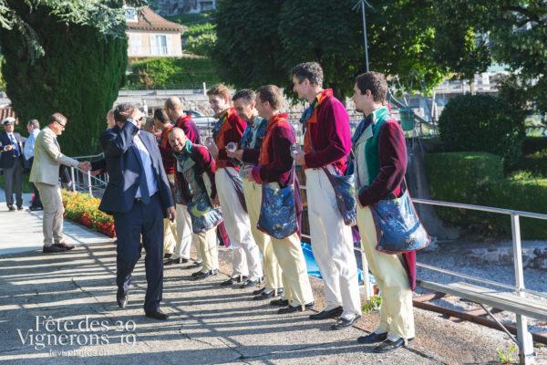 Accueil des autorités cantonales de Vaud - Autorités, Hommes du premier printemps, Journées cantonales, vaud, Photographies de la Fête des Vignerons 2019.