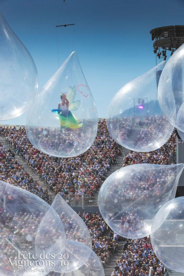 Spectacle final - Final, Libellule, Spectacle, Photographies de la Fête des Vignerons 2019.