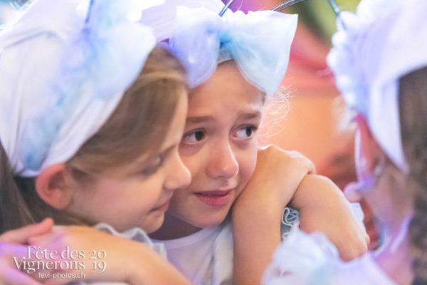 Spectacle final - Coulisses, Final, Musiciens de la Fête, Spectacle, Voix d'enfants, Photographies de la Fête des Vignerons 2019.