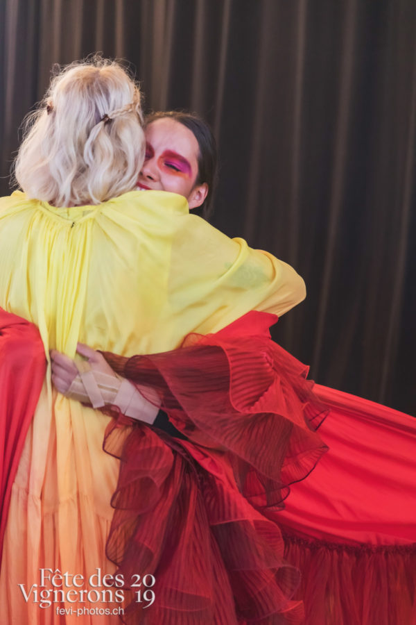 Spectacle final - Coulisses, Final, Loïe Fuller, Spectacle, Photographies de la Fête des Vignerons 2019.