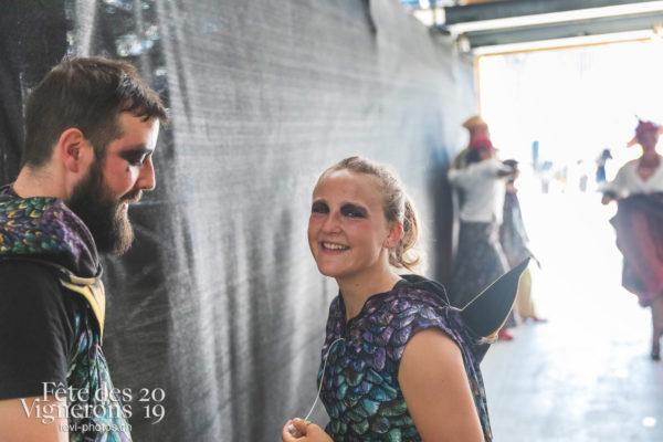 Spectacle final - Coulisses, Etourneaux, Final, Spectacle, Photographies de la Fête des Vignerons 2019.