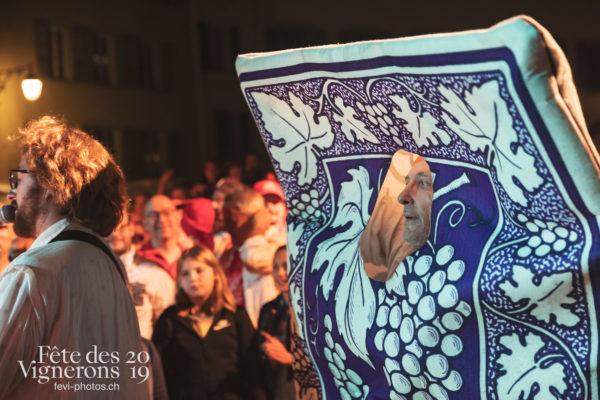 Les Vendangeurs Masqués - FAR 2019 - Cartes, Festival des artistes de rue, Ville en Fête, Photographies de la Fête des Vignerons 2019.
