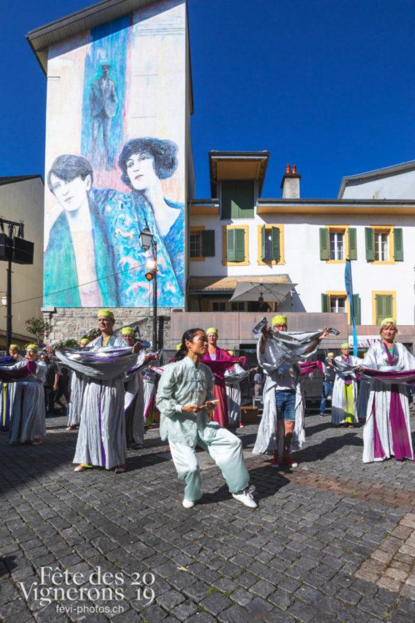 Démonstration des Maîtres-Tailleurs au Festival des Artistes de Rue