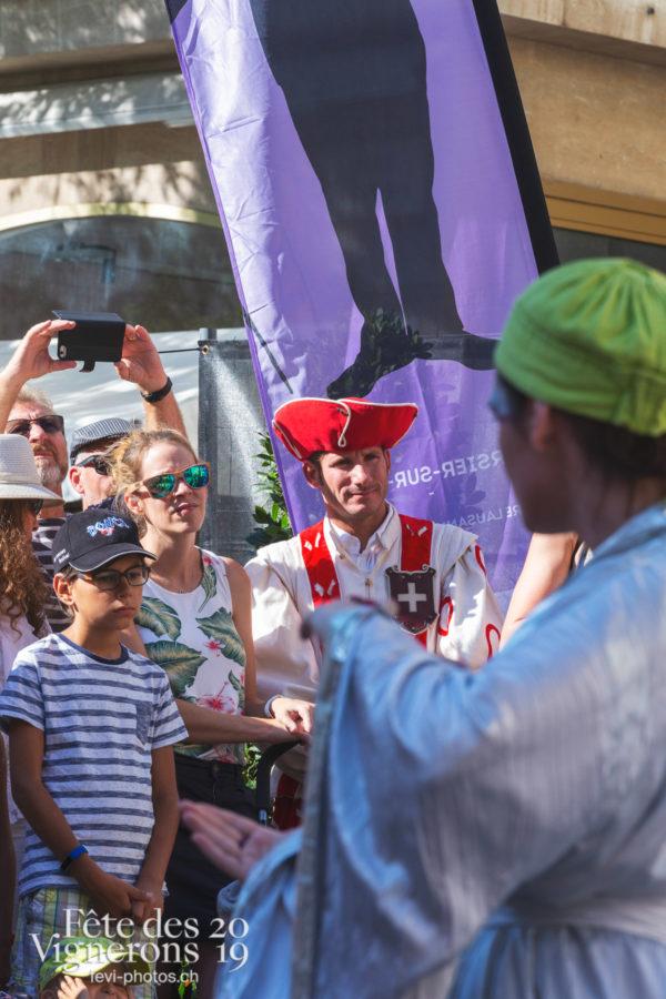 FAR 2019 Maîtres-Tailleurs - Cent pour Cent, Festival des artistes de rue, Maîtres-Tailleurs, Photographies de la Fête des Vignerons 2019.