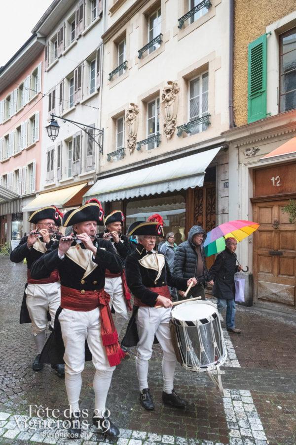 FeVi2019 à la St-Martin 2018 - Fifres & tambours de Bâle, Musiciens de la Fête, Photographies de la Fête des Vignerons 2019.