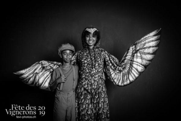 studio_juillet_aout_©JulieMasson-6523 - Enfants protecteurs, Etourneaux, Studio, Photographies de la Fête des Vignerons 2019.