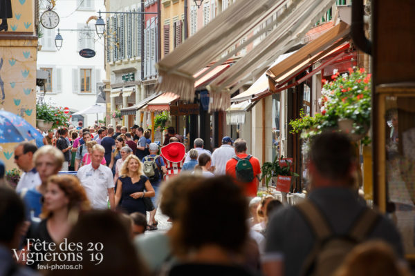 Ambiance en ville - Ambiance, Cent suisses, Rue, Photographies de la Fête des Vignerons 2019.