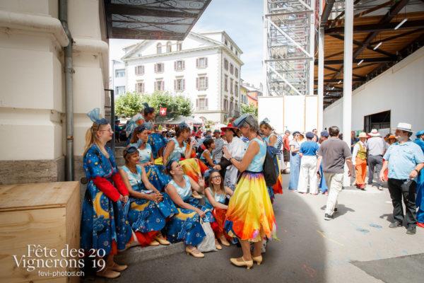 Ambiance en ville - Ambiance, Bourgeons, Rue, Photographies de la Fête des Vignerons 2019.