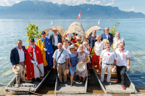 Journée cantonale de Soleure, arrivée des autorités et défilé depuis la gare jusqu'au Jardin du Rivage.