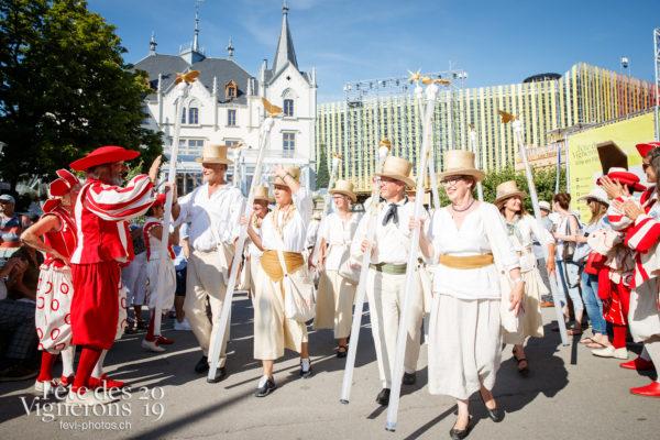 Journée cantonale, Zürich - Cent pour Cent, Cortège, journee-cantonale-zurich, Journées cantonales, Marmousets, Zürich, Photographies de la Fête des Vignerons 2019.