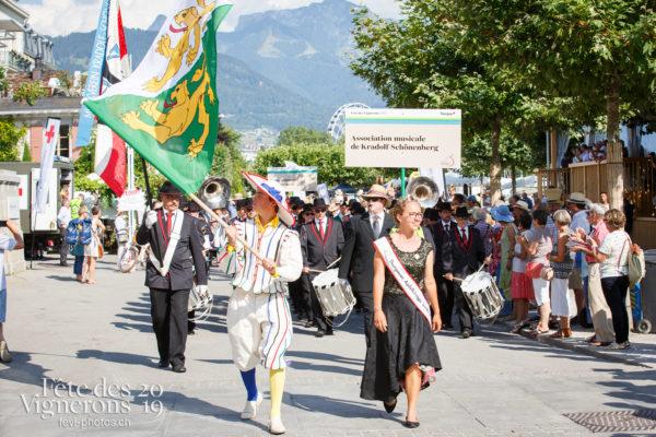 Journée cantonale, Thurgovie - Cortège, journee-cantonale-thurgovie, Journées cantonales, Porteurs drapeaux, thurgovie, Photographies de la Fête des Vignerons 2019.