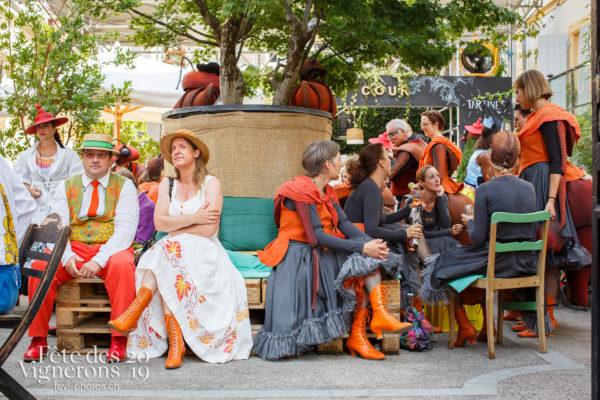 Ambiance en ville - Ambiance, Fourmis, Rue, Saint-Martin, Photographies de la Fête des Vignerons 2019.