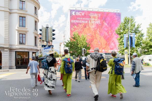 Ambiance en ville - Ambiance, Armaillis, Maîtres-Tailleurs, Rue, Photographies de la Fête des Vignerons 2019.