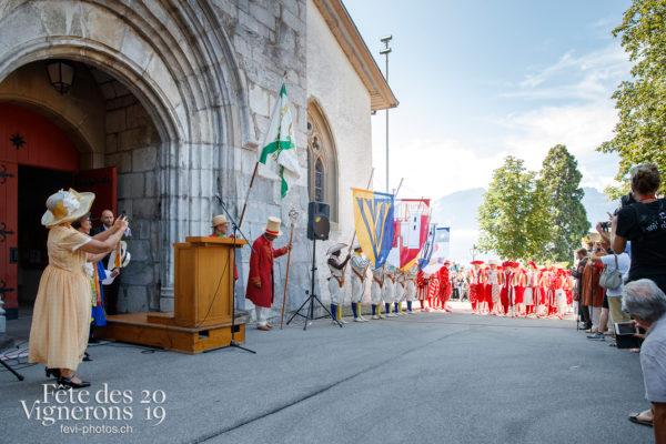 Journée cantonale, District Riviera Pays d'En Haut - Autorités, Cent pour Cent, District Riviera Pays d'En Haut, Journées cantonales, Porteurs drapeaux, Un jour au Paradis, Photographies de la Fête des Vignerons 2019.