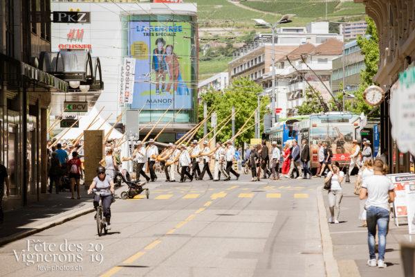 Journée cantonale, District Riviera Pays d'En Haut - Cors des Alpes, Cortège, District Riviera Pays d'En Haut, Journées cantonales, Un jour au Paradis, Photographies de la Fête des Vignerons 2019.