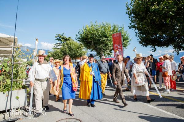 Journée cantonale, District Riviera Pays d'En Haut - Autorités, Défilé, District Riviera Pays d'En Haut, Journées cantonales, Un jour au Paradis, Photographies de la Fête des Vignerons 2019.
