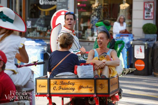 Ambiance en ville - Ambiance, Rue, Tracassets, Photographies de la Fête des Vignerons 2019.